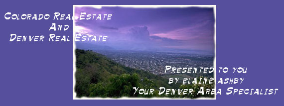 Denver and Colorado Real Estate